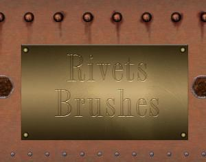 Rivets Brushes Photoshop brush