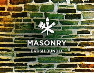 Masonry Photoshop brush