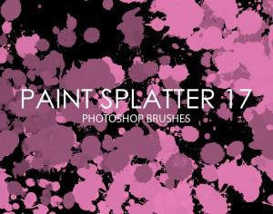 Free Paint Splatter Photoshop Brushes 17 Photoshop brush