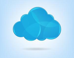 Cloud Computing Concept Photoshop brush
