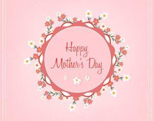 Mother's day floral illustration Photoshop brush