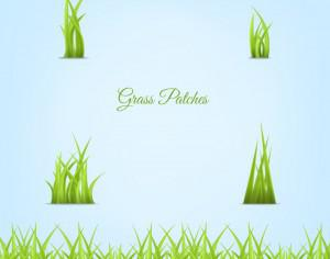 Grass Patches Photoshop brush