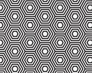 Geometric pattern Photoshop brush