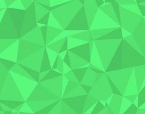 Green Polygons Photoshop brush