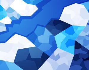 Icy Polygons Photoshop brush