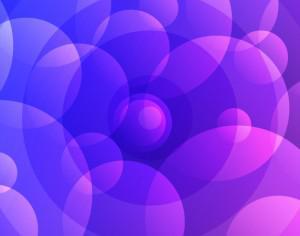 Abstract Purple Circles Photoshop brush