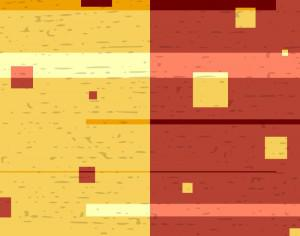 Yellow and Red Abstraction with Subtle Texture Photoshop brush