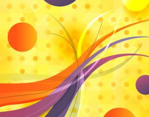 Abstract Circles and Wavy Lines Photoshop brush