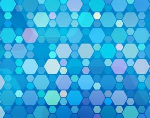 Subtle Hexagons Photoshop brush