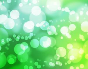 Busy Green Bokeh Photoshop brush