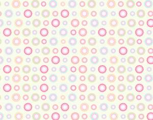 Flower pattern Photoshop brush