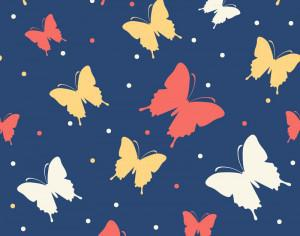Butterfly vector pattern Photoshop brush