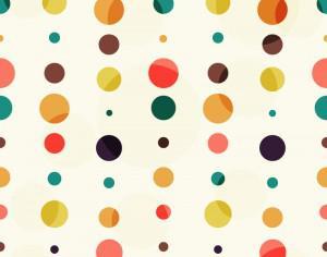 Colorful Dots Pattern Photoshop brush