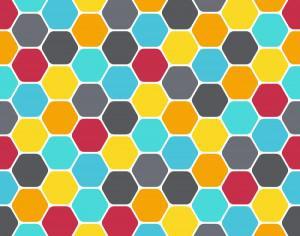 Honeycomb Pattern Photoshop brush
