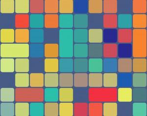 Rounded Squares Pattern Photoshop brush