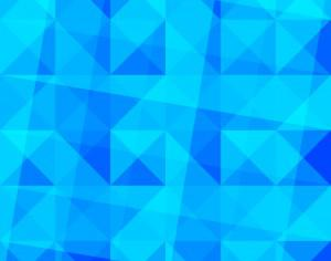 Blue Triangles Pattern Photoshop brush