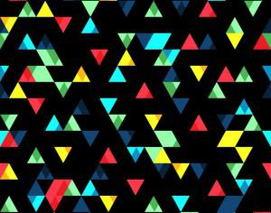 Small Colorful Triangles Pattern Photoshop brush