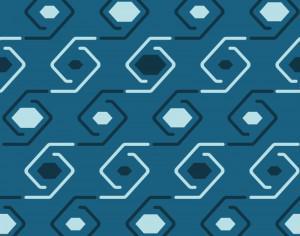 Geometric Swirls Pattern Photoshop brush