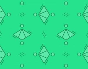 Green Diamond Pattern Photoshop brush