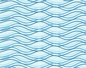 Wave vector illustration Photoshop brush