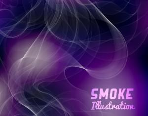 Smoke vector illustration Photoshop brush