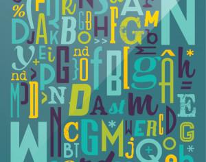 Various Typography Collection Photoshop brush