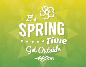 Spring Typographic Background Photoshop brush