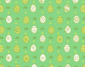 Easter pattern with eggs Photoshop brush