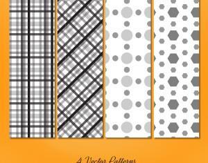 Geometric Seamless Patterns Set Photoshop brush