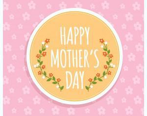 Happy Mother's day Illustration Photoshop brush