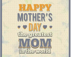 Mother's Day Typography Photoshop brush