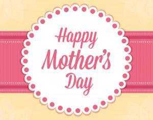 Happy Mother's Day Card Photoshop brush