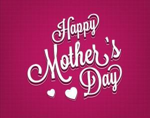 Mother's day Typography Illustration Photoshop brush
