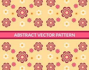 Abstract Floral Pattern Photoshop brush