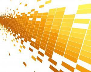 abstract yellow technology pattern background Photoshop brush