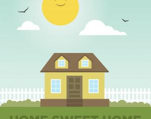 Home Sweet Home Photoshop brush