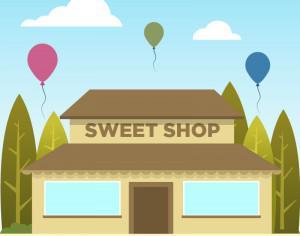 Sweet Shop Photoshop brush