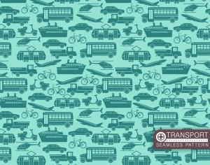 Transport seamless pattern Photoshop brush