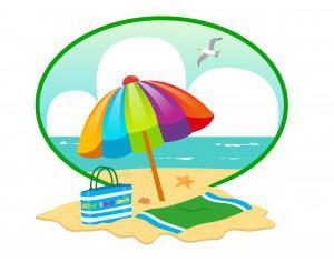 Summer Beach Day Photoshop brush