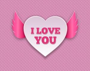 Valentine's Day Card Photoshop brush