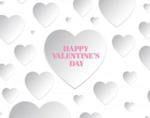 Happy Valentine's Day Card Photoshop brush