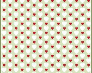 Hearts Pattern Photoshop brush