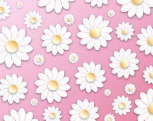 Floral 3D Pattern Photoshop brush