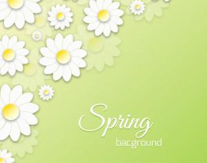 Spring Floral 3D Illustration Photoshop brush