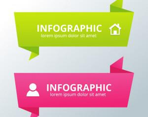 Colorful Banner Design template Photoshop brush