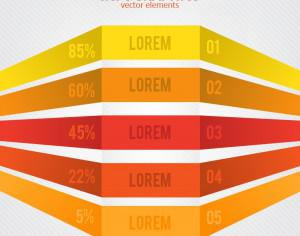 Minimal infographics design Photoshop brush
