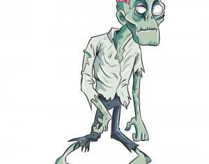 Zombie caricature Photoshop brush