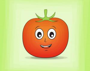 Tomato Cartoon Character Photoshop brush