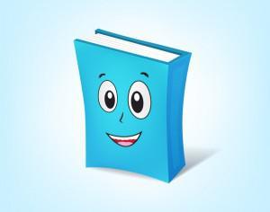 Book Cartoon Character Photoshop brush