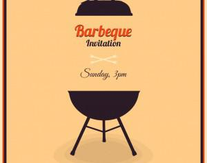 Barbecue Illustration Photoshop brush